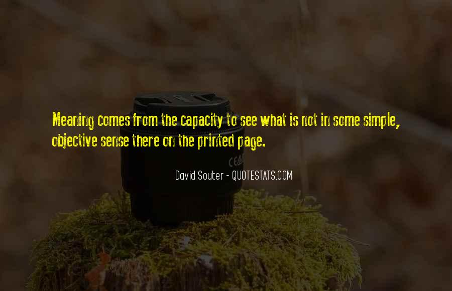 Souter Quotes #1181257