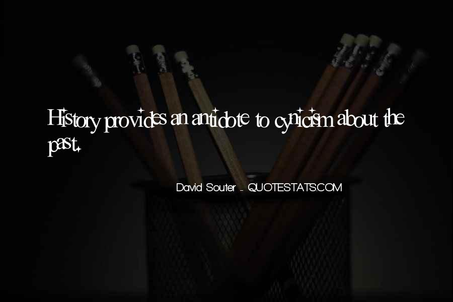 Souter Quotes #409626