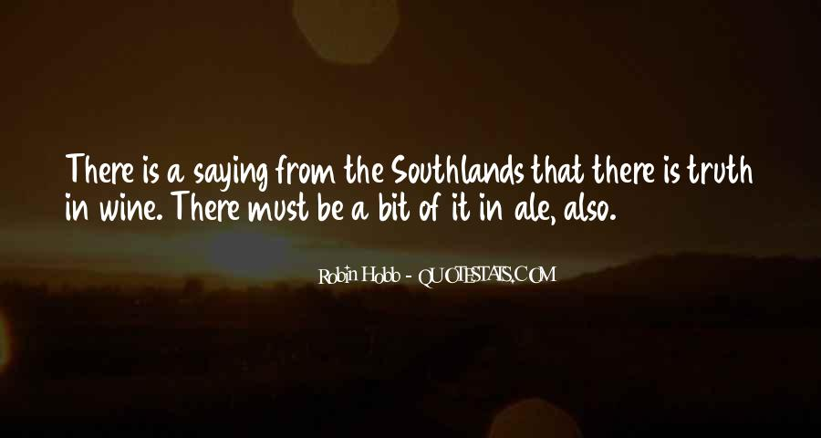Southlands Quotes #1218121