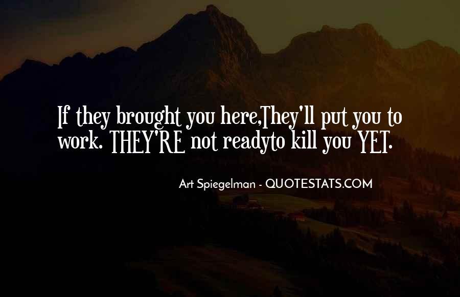 Spiegelman's Quotes #1247810