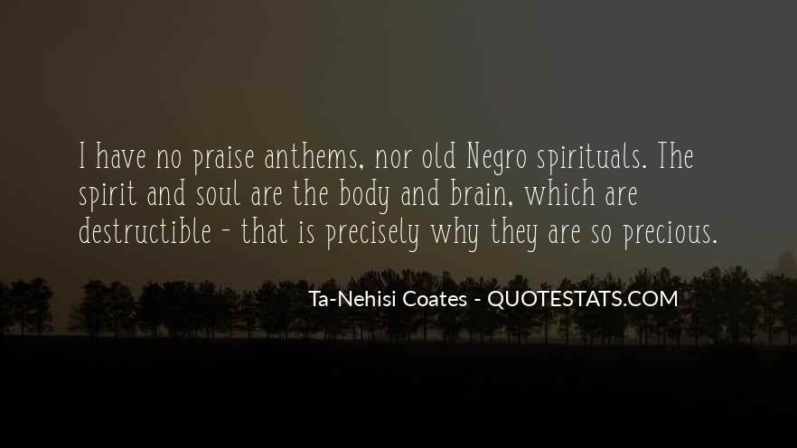 Spirituals Quotes #561592