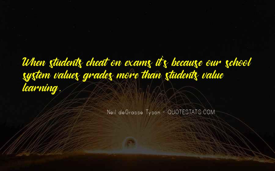 Quotes About Our School System #1136444