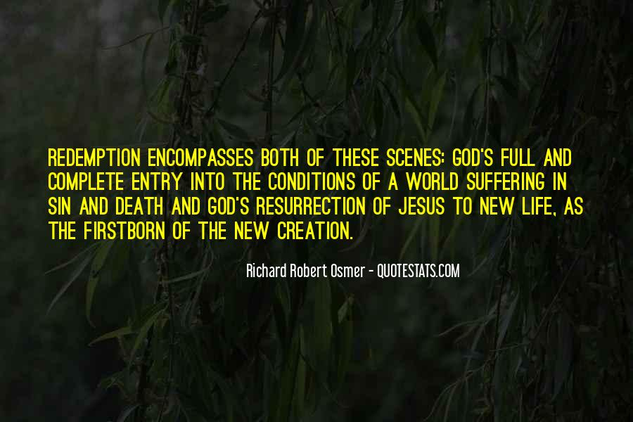 Quotes About Sin Suffering And Redemption #649406