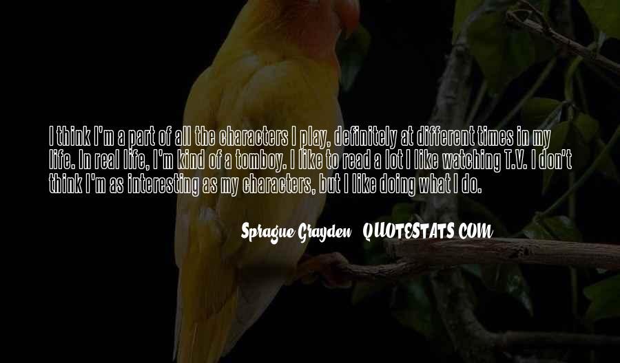 Sprague Quotes #1520593