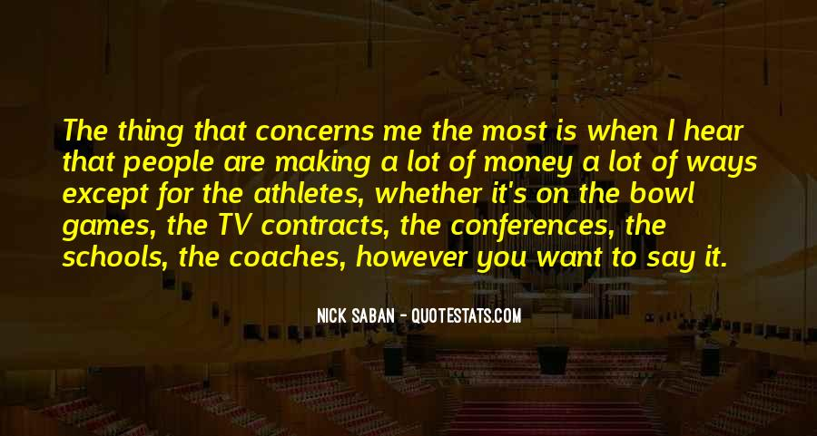 Quotes About Coaches And Athletes #1112533