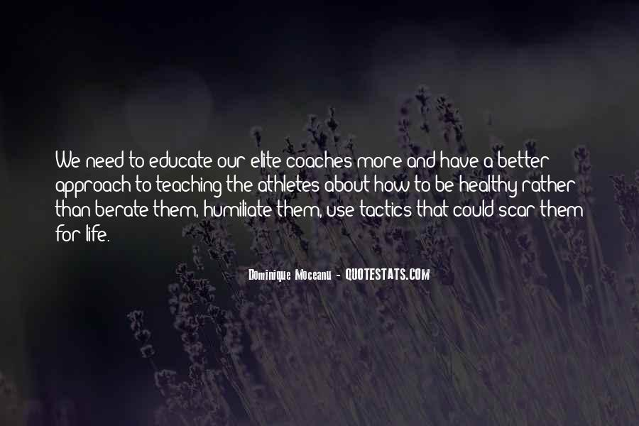 Quotes About Coaches And Athletes #1641396
