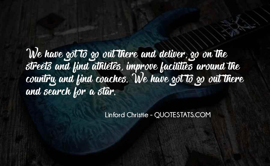 Quotes About Coaches And Athletes #1844410
