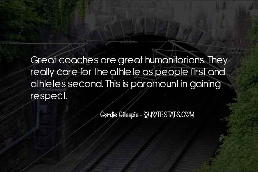 Quotes About Coaches And Athletes #385724