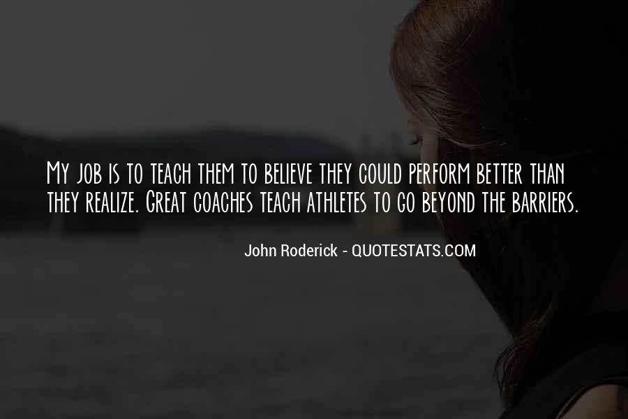 Quotes About Coaches And Athletes #551158
