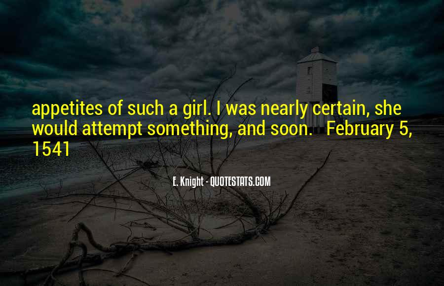 Quotes About A Certain Girl #1656279