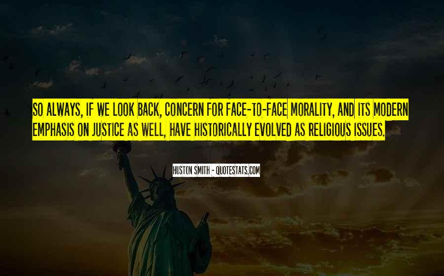 Quotes About Morality Issues #104901