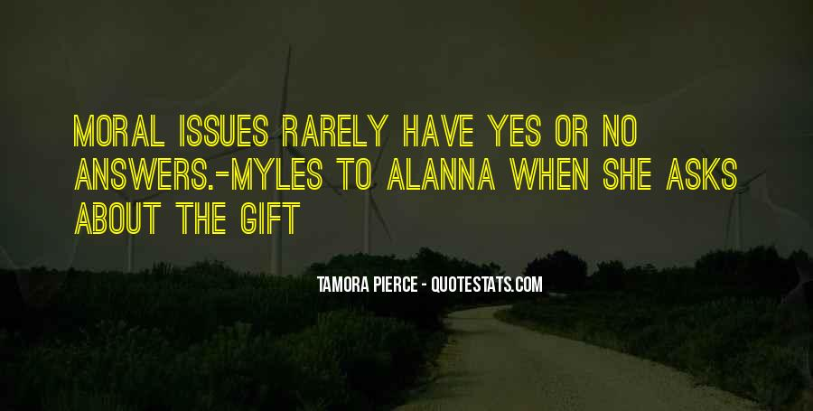 Quotes About Morality Issues #1409641