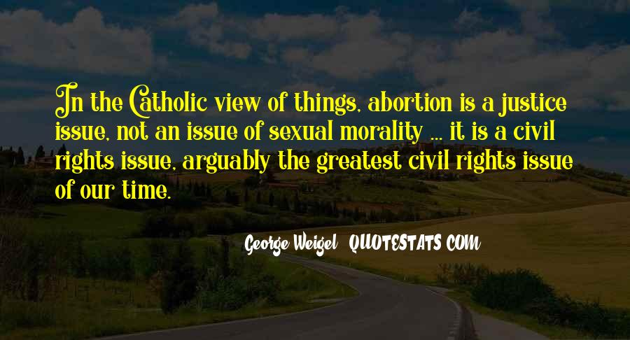 Quotes About Morality Issues #1676685