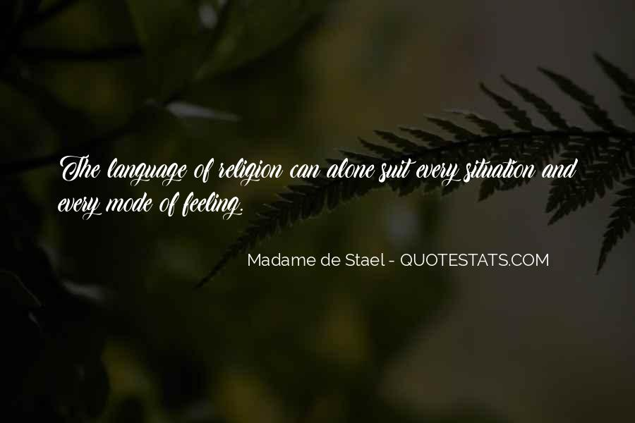 Stael Quotes #530093