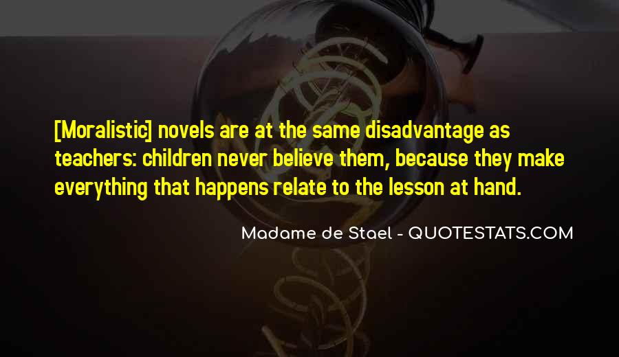 Stael Quotes #607028