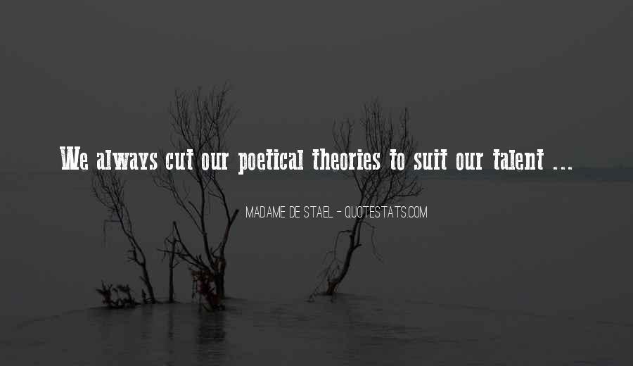 Stael Quotes #751773
