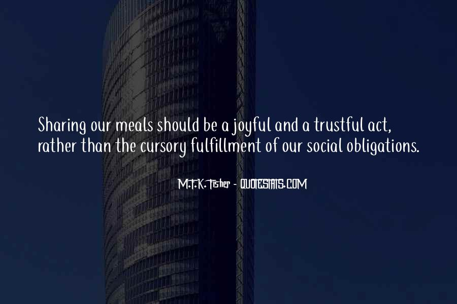 Quotes About Meals #255015
