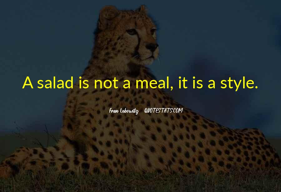 Quotes About Meals #267408