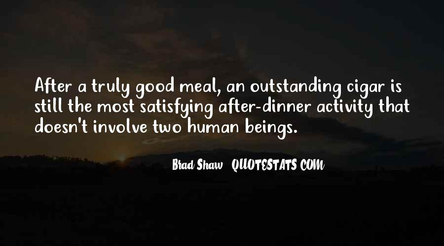 Quotes About Meals #274091