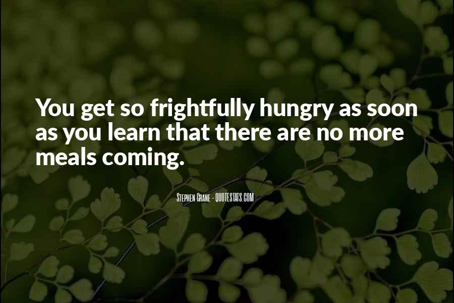 Quotes About Meals #30187