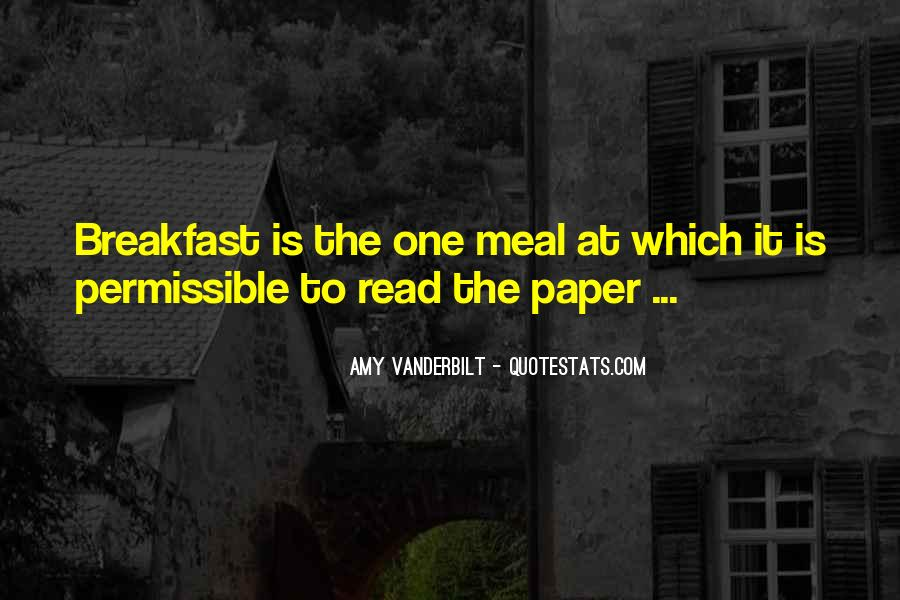 Quotes About Meals #60348