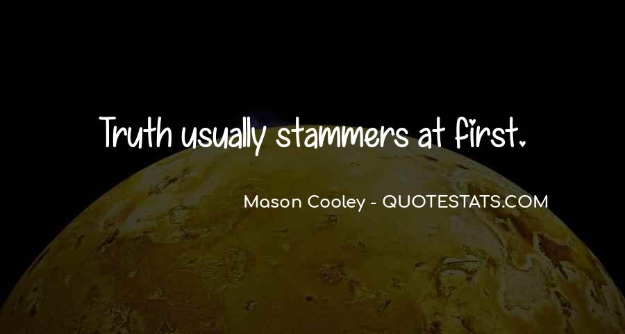 Stammers Quotes #1696595
