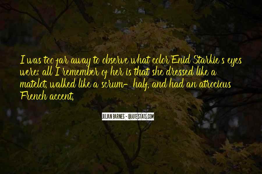 Starkie's Quotes #1145135