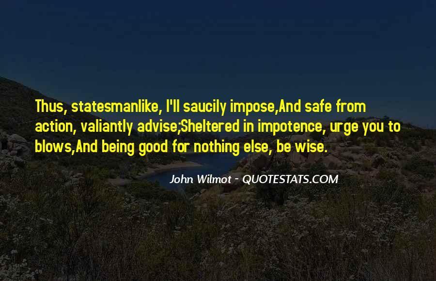 Statesmanlike Quotes #1197478