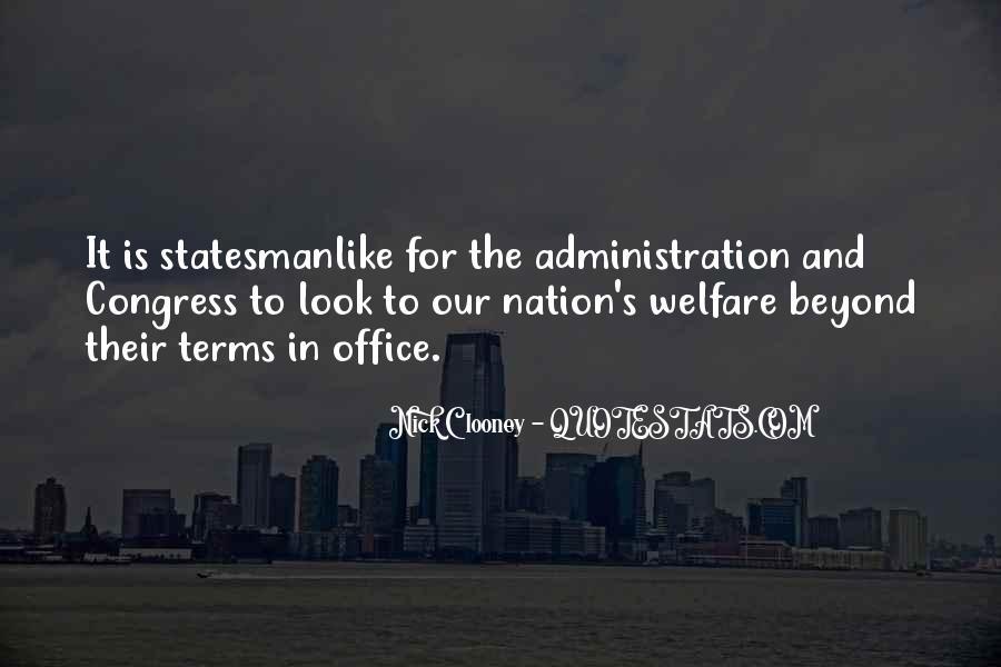 Statesmanlike Quotes #304393