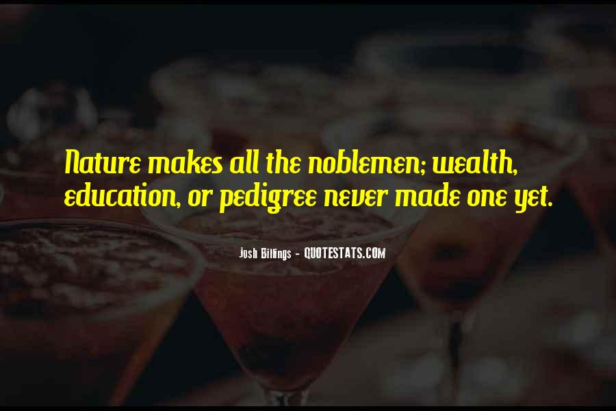 Quotes About Pedigree #1267268