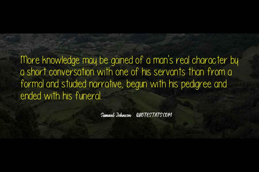 Quotes About Pedigree #1587906