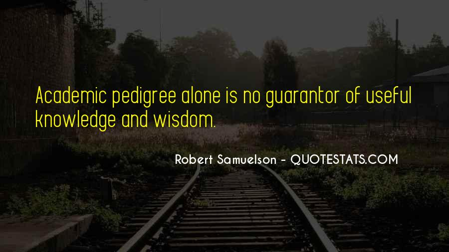 Quotes About Pedigree #1660582