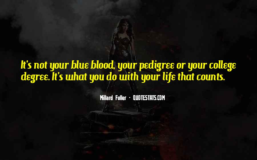 Quotes About Pedigree #668734