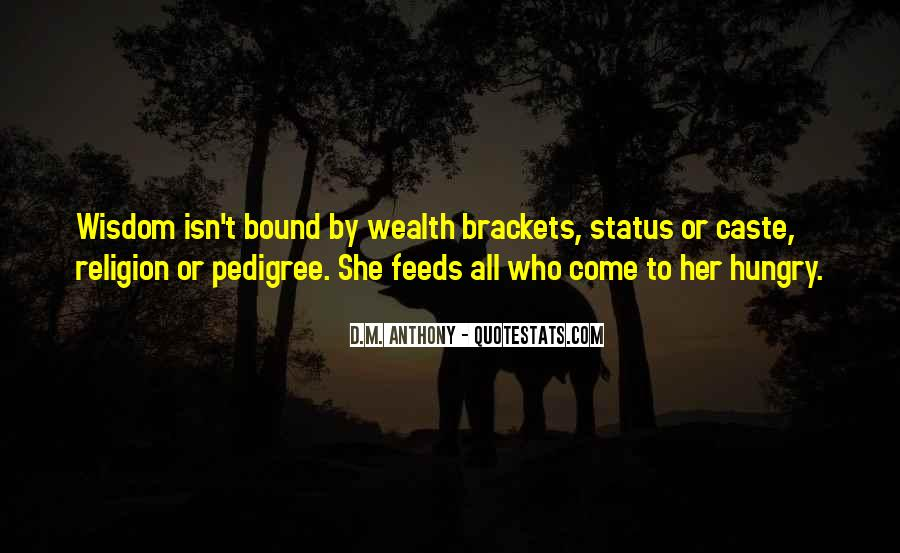 Quotes About Pedigree #708236