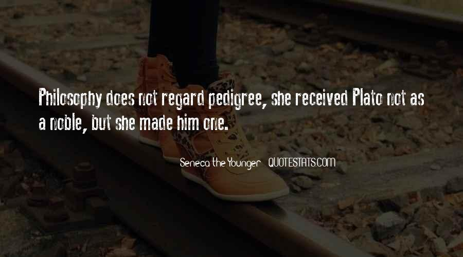 Quotes About Pedigree #758705