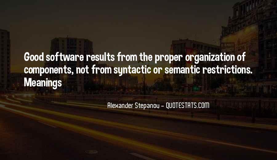 Stepanov Quotes #1057980