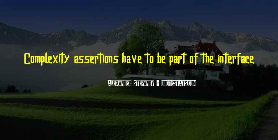 Stepanov Quotes #164131