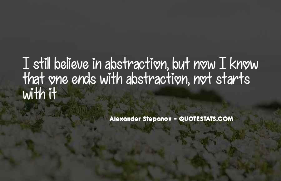 Stepanov Quotes #44932