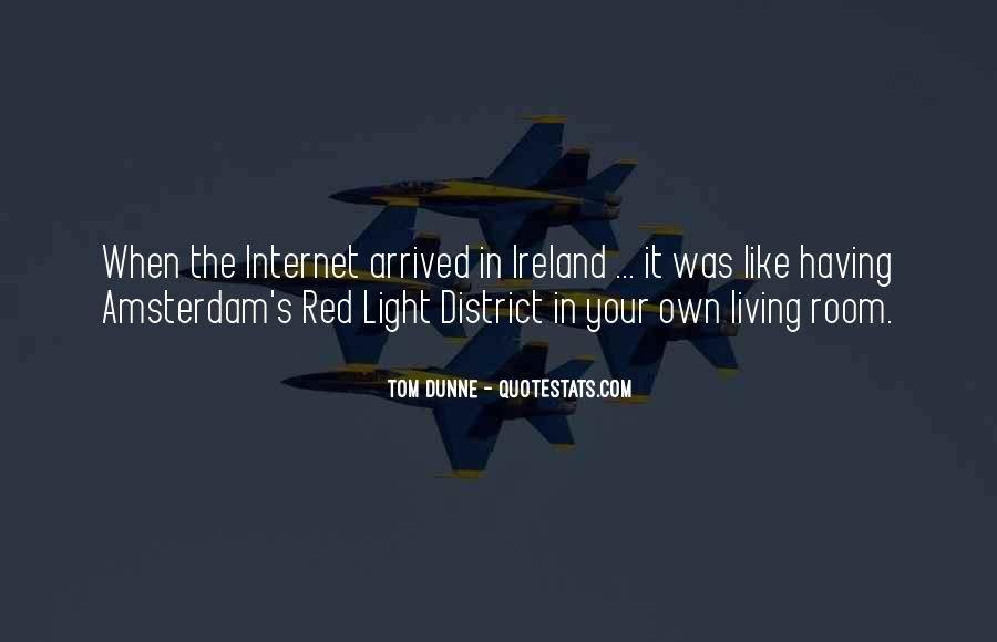 Quotes About The Red Light District #1508049
