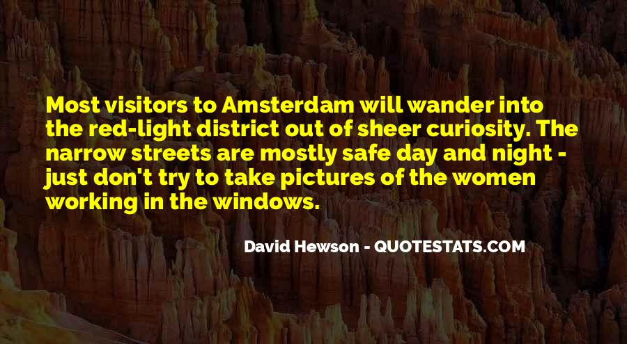 Quotes About The Red Light District #787818