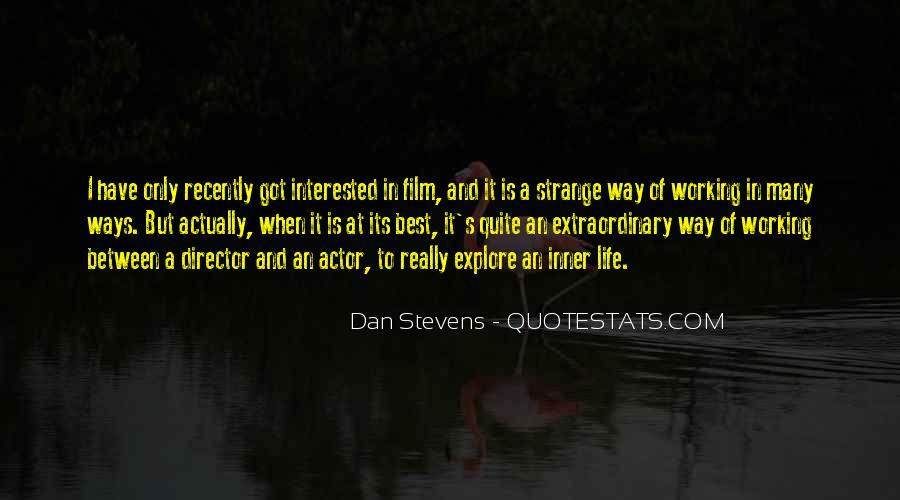 Stevens's Quotes #723829