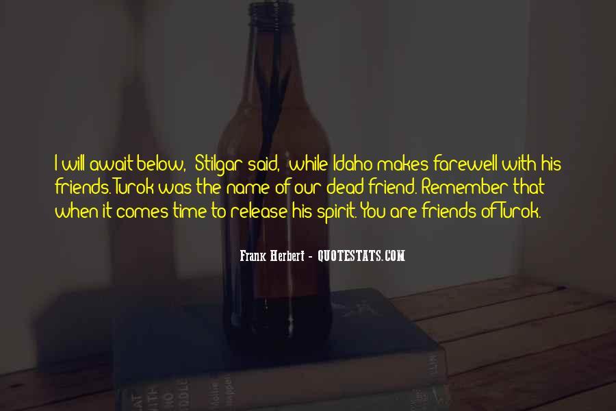 Stilgar Quotes #125547
