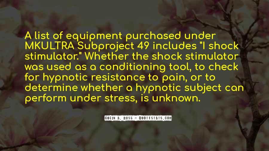 Stimulator Quotes #774710