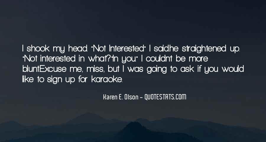 Straightened Quotes #1436320