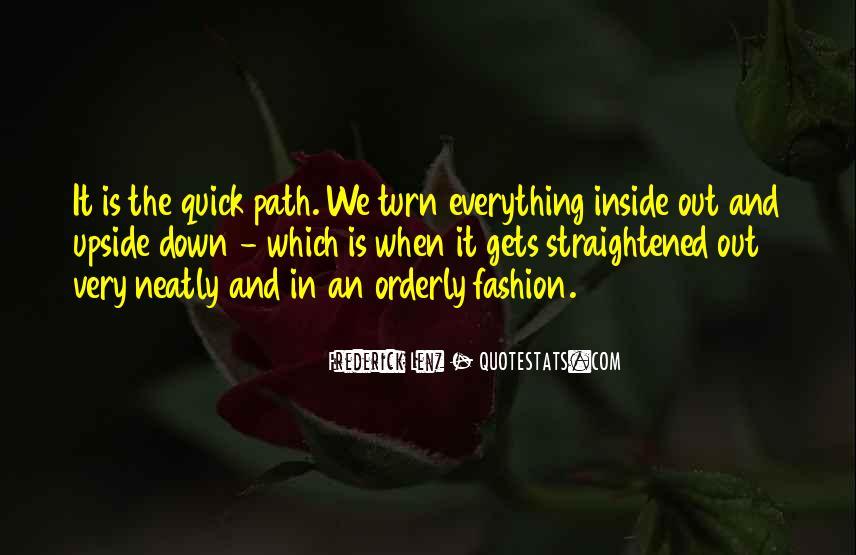 Straightened Quotes #143985