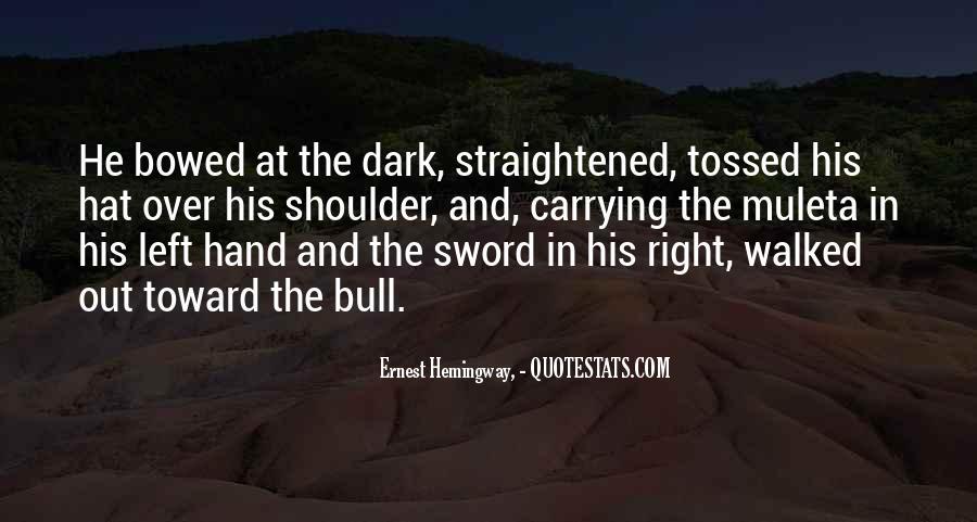 Straightened Quotes #1603702