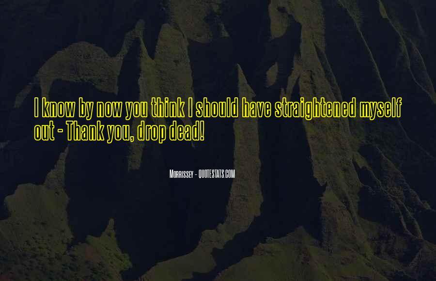 Straightened Quotes #1750935