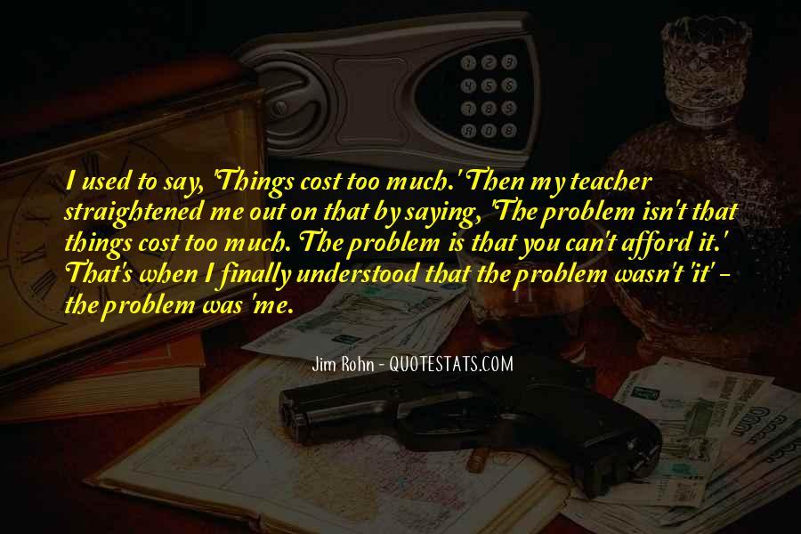 Straightened Quotes #1776939