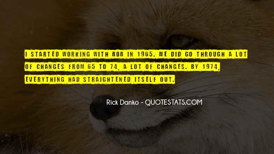 Straightened Quotes #1844927