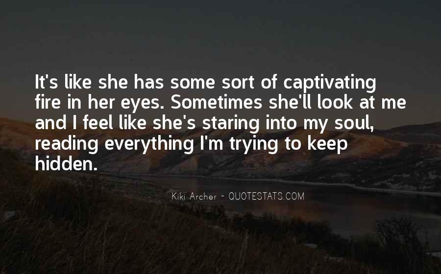 Quotes About Eyes And Secrets #1008967